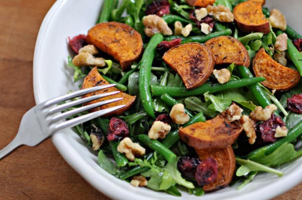 Sweet Potato and Green Bean Salad