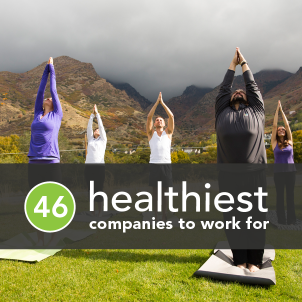 The 46 Healthiest Companies to Work For