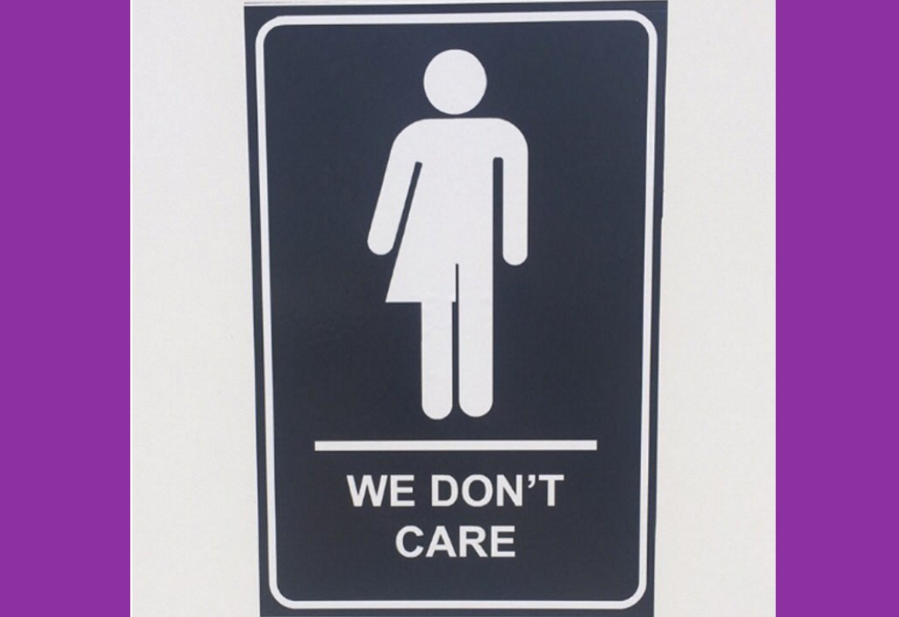 Gender Neutral Bathroom Signs Classy All Gender Restroom