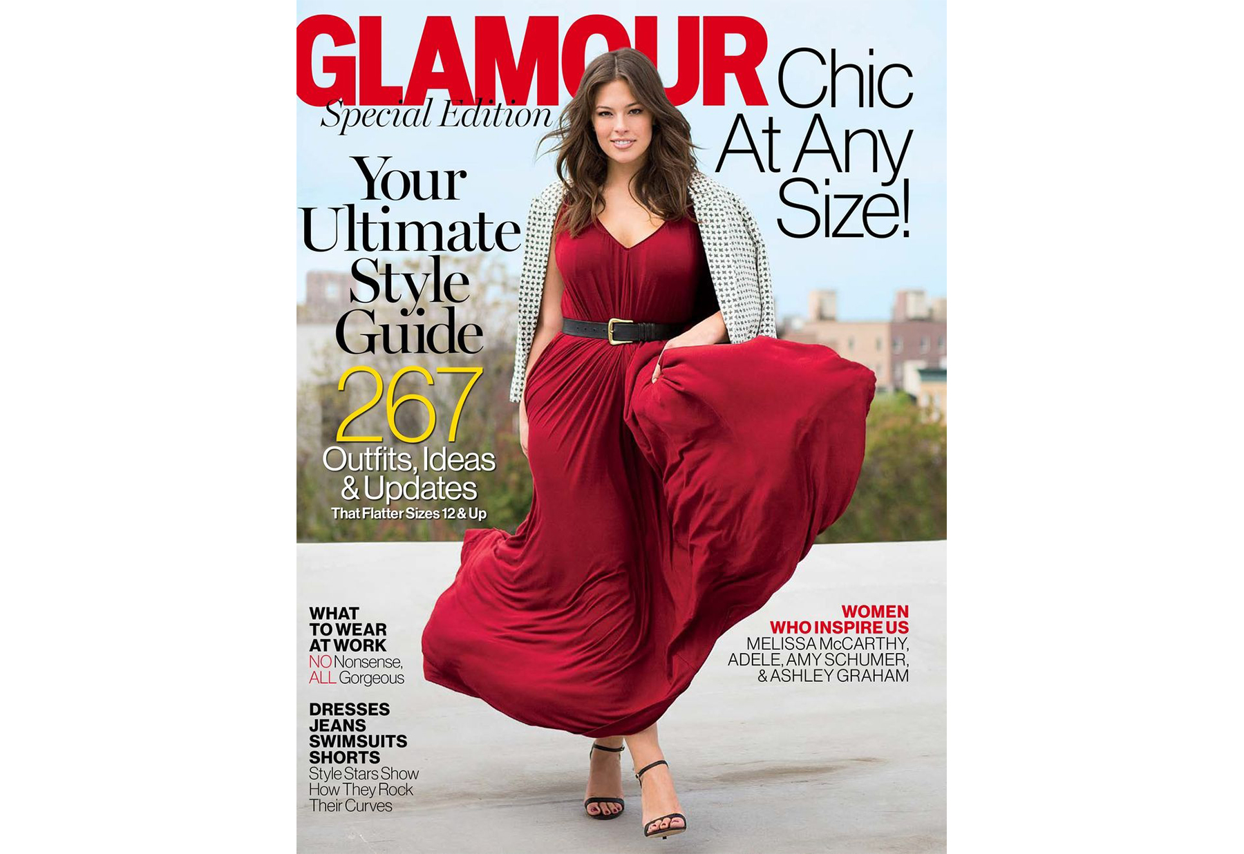Amy Schumer Slams Glamour Magazine for Including Her in Plus-Size Issue