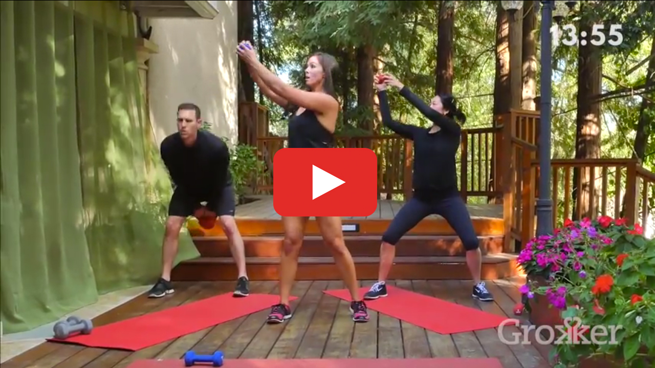 Strength Workout: The 30-Minute Total-Body Home Routine
