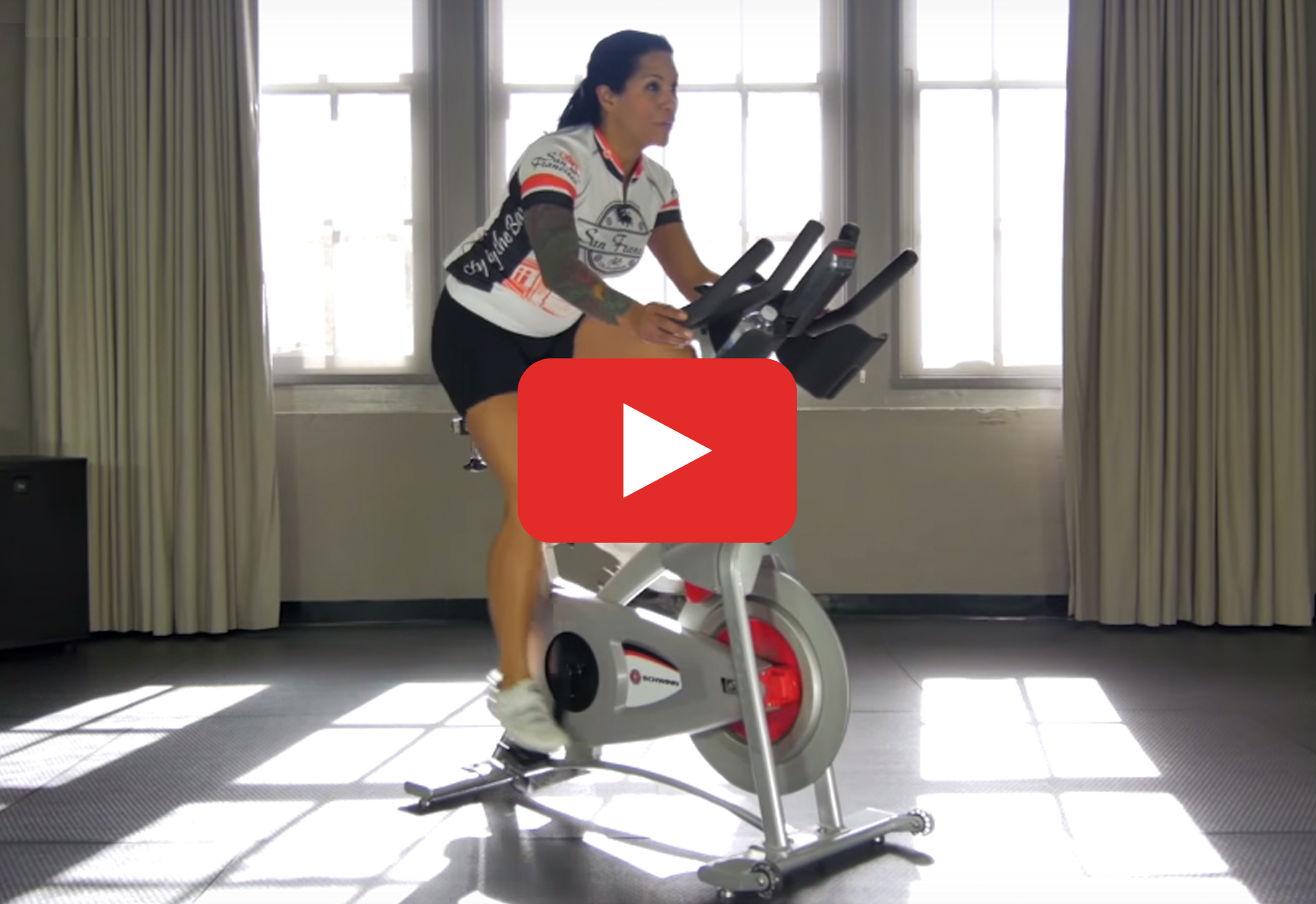 Free Indoor Cycling Workout Video