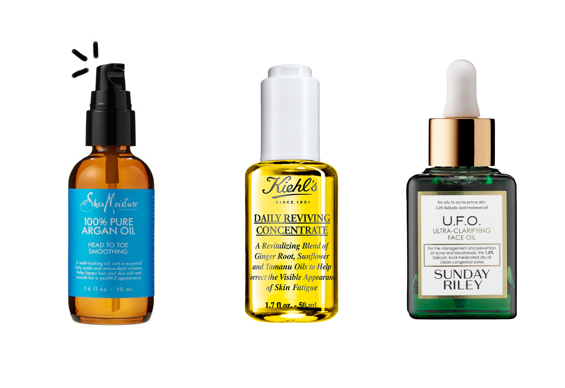 face oil for oily acne prone skin