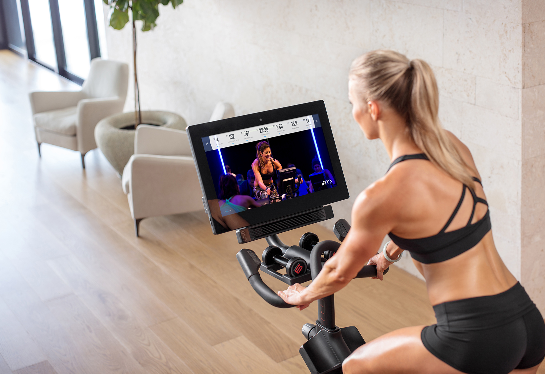 The NordicTrack iFit Exercise Bike Is My Favorite Piece of