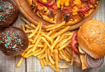 Junk food feature