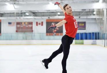 Adam Rippon ice skating