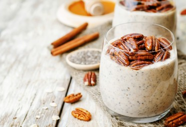 Chia Seed Pudding with Cinnamon