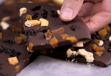 Eat Me Video: Chocolate Bark feature
