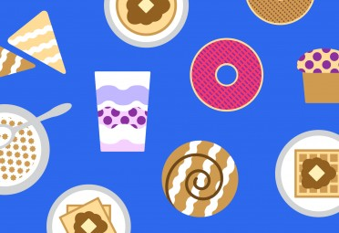10 Common Breakfast Foods Ranked by How Much Sugar They Have