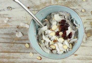 recipe video: banana chia pudding