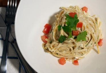 Pasta Recipe: Linguine with Greek Yogurt and Tuna Sauce