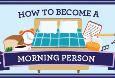 How to Become a Morning Person (For Good This Time)!