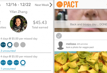 Keep Your Healthy New Year's Resolution Or Lose Money with Pact