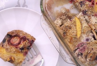 Eat Me Video: Quinoa Breakfast Bake feature