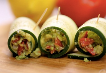 Eat Me Video: Cucumber Guac Rolls feature