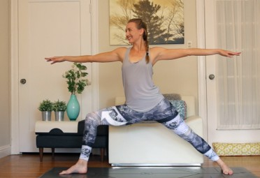power yoga the 15minute power yoga workout for beginners