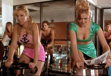 Romy and Michele Spinning