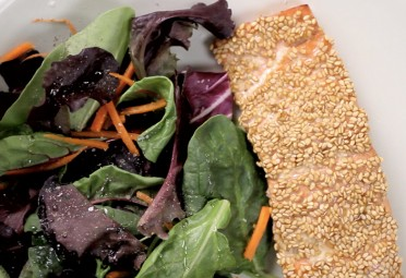 Eat Me Video: Sesame Salmon feature