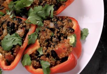 Eat Me Video: Quinoa-Stuffed Pepper feature