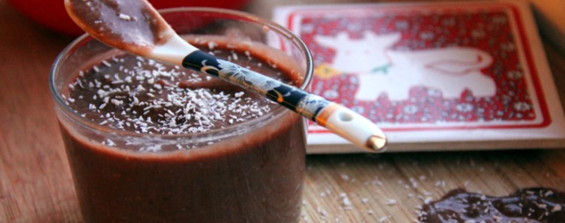 Dairy-Free Banana Chocolate Pudding