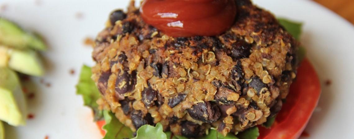 Black Bean and Quinoa Burgers