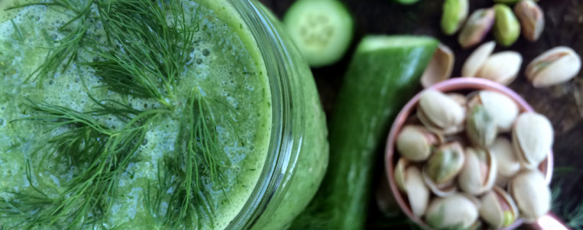 Cucumber and Dill Smoothie