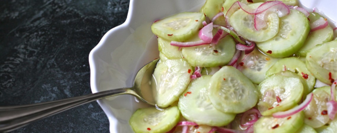 Asian-Inspired Cucumber Salad