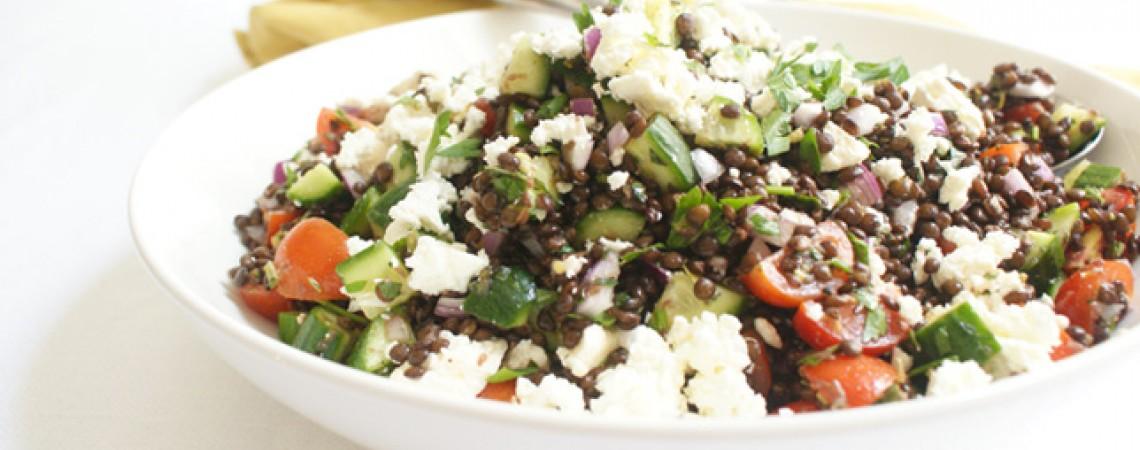 Greek-Style Lentil Salad