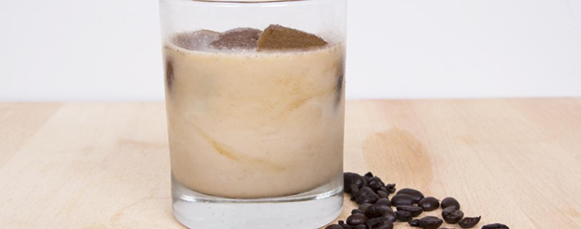 Healthier Iced Vanilla Latte
