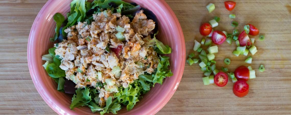 No-Mayo Tuna Salad