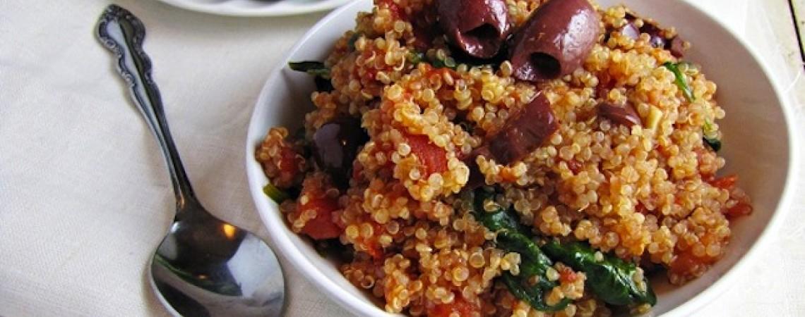 Quinoa Puttanesca