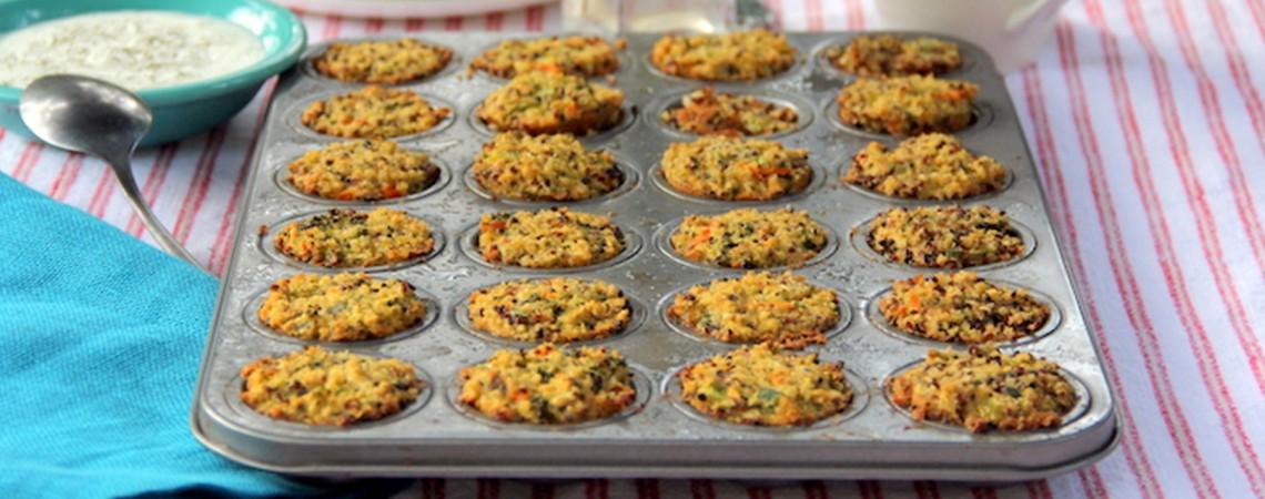 Quinoa Muffin Bites