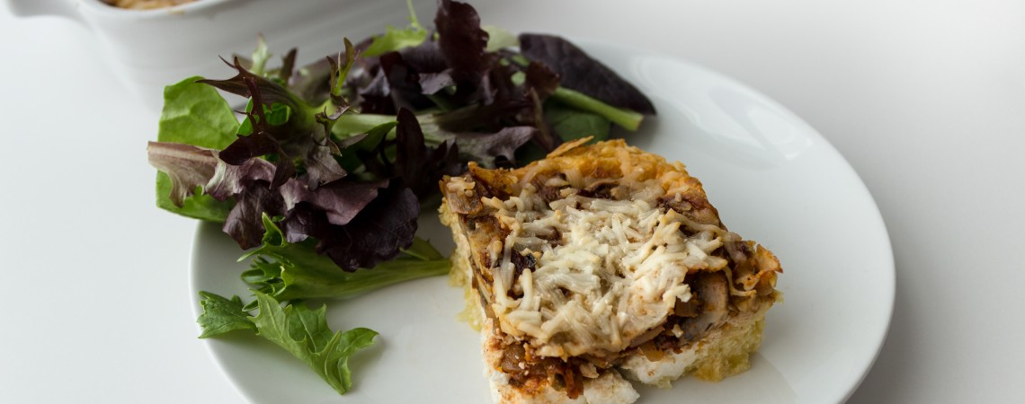 Cooking for Two: Spaghetti Squash Pie