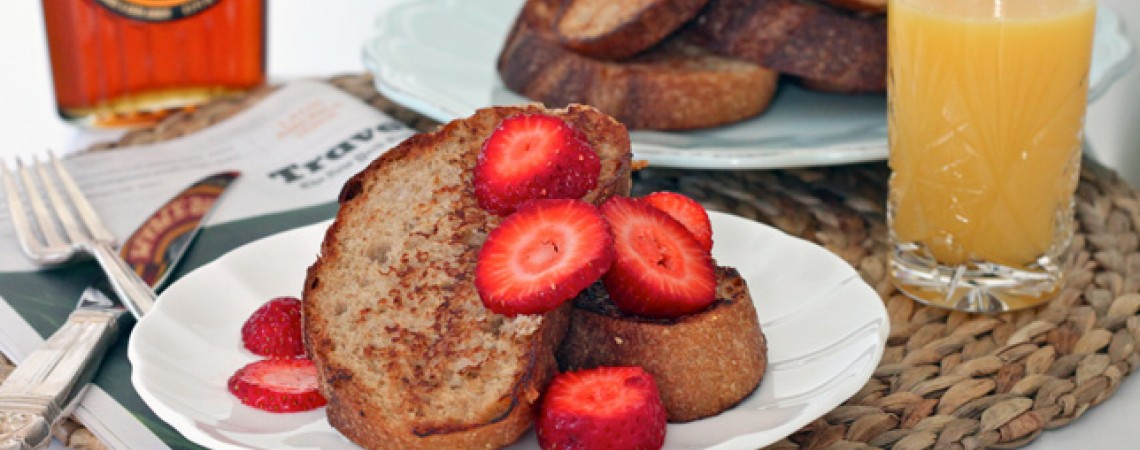 Vegan Coconut French Toast