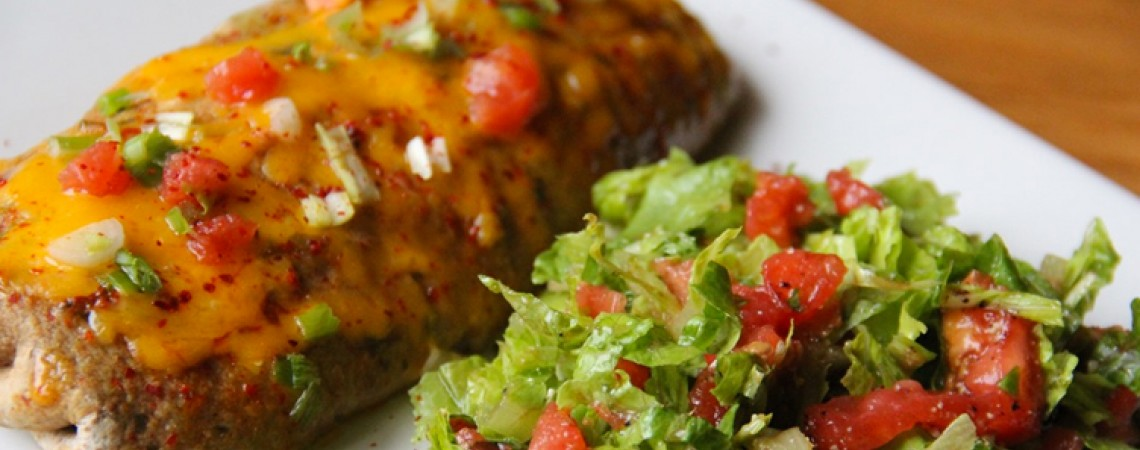 Healthier Vegetable Enchiladas