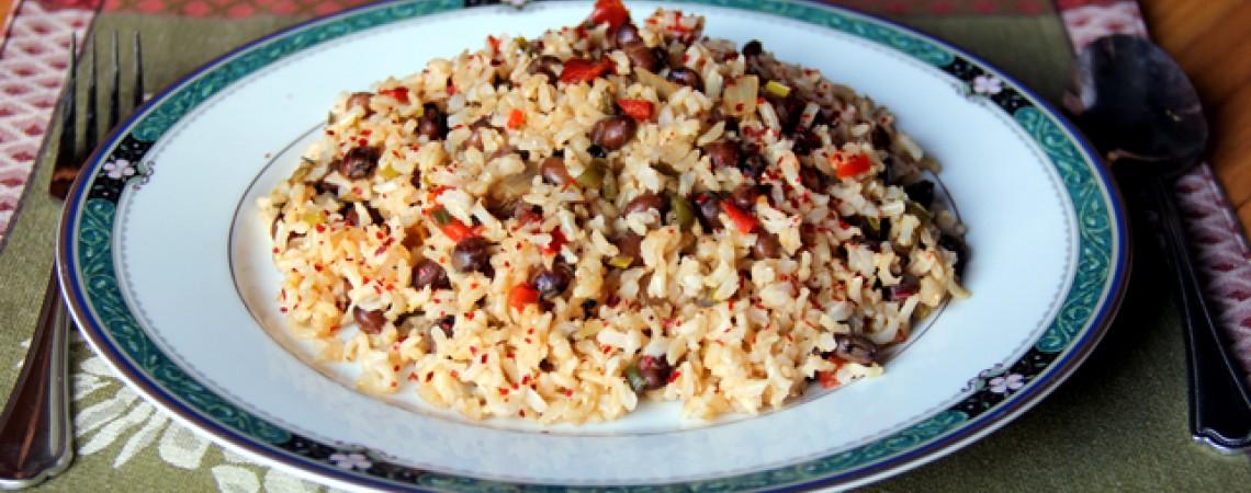 Veggie Rice and Beans