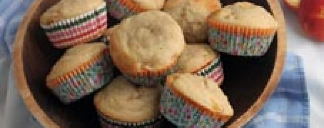 Peach Yogurt Muffins