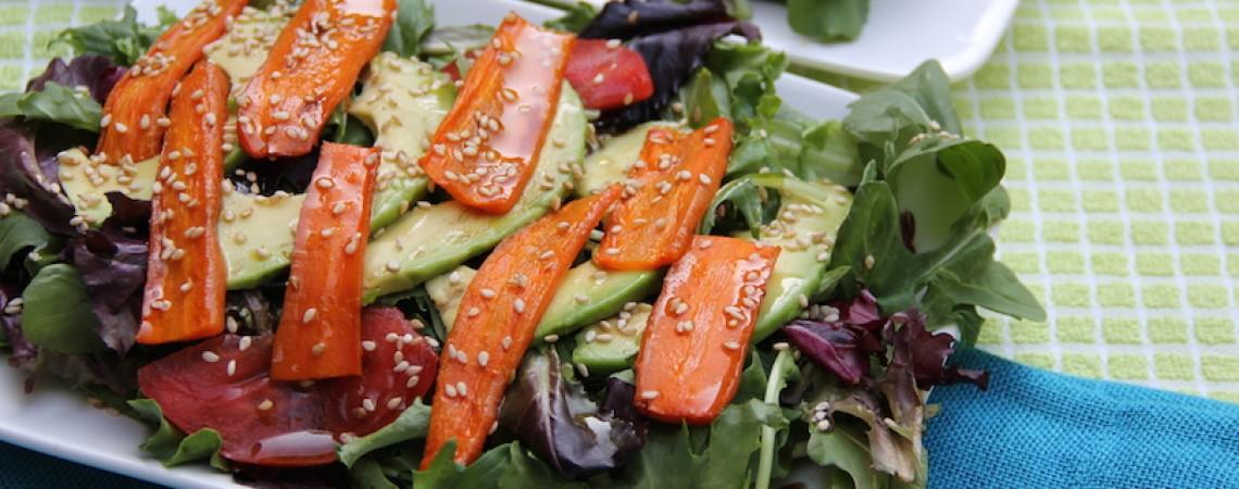 Avocado and Arugula Salad