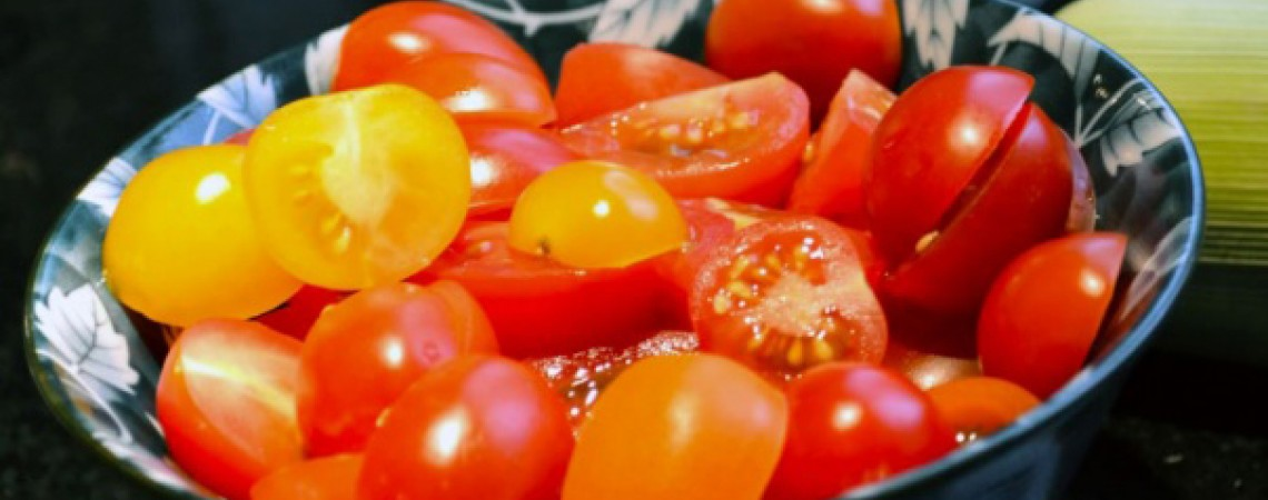Cherry Tomato Ragout