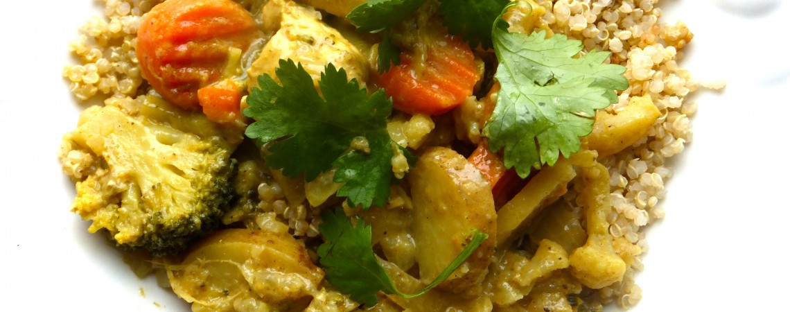 Simple Chicken Coconut Curry