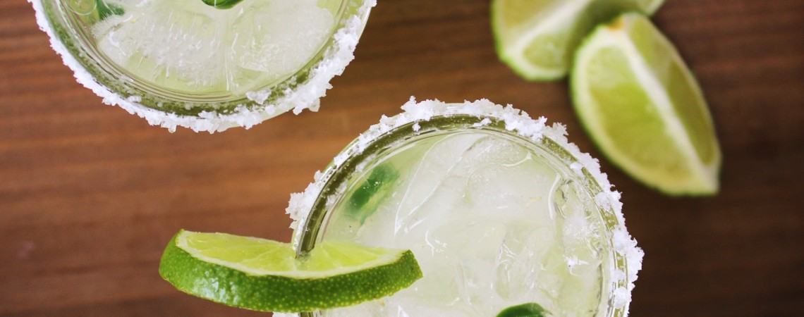 Healthier Spicy Margaritas