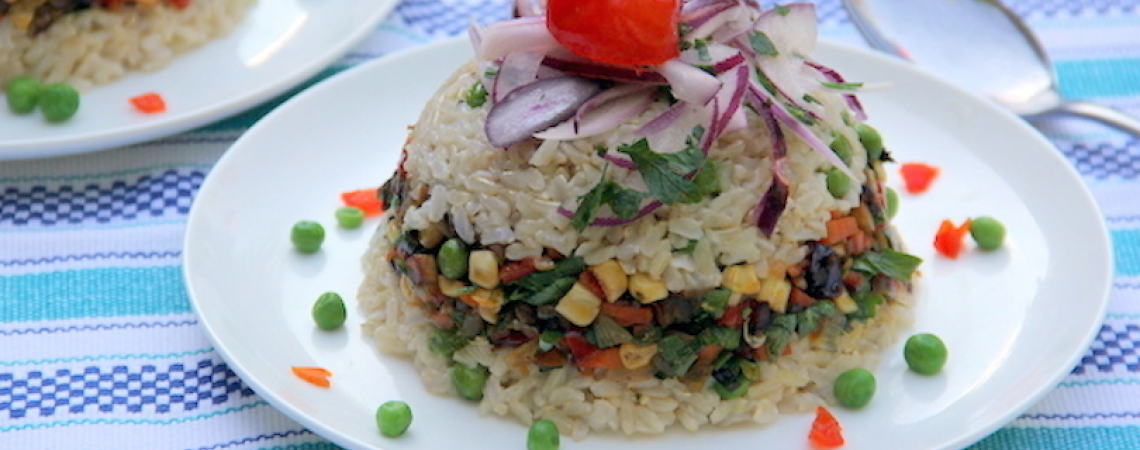 Vegetarian Arroz Tapado
