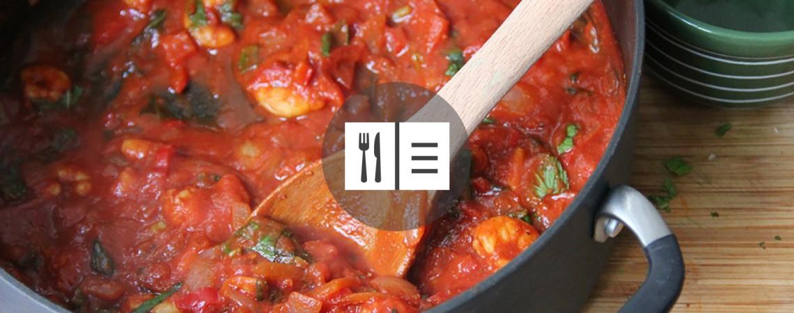 Tomato Shrimp Stew