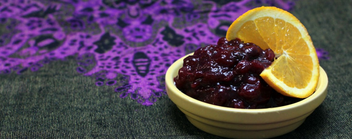 Cranberry-Orange Sauce With Thyme