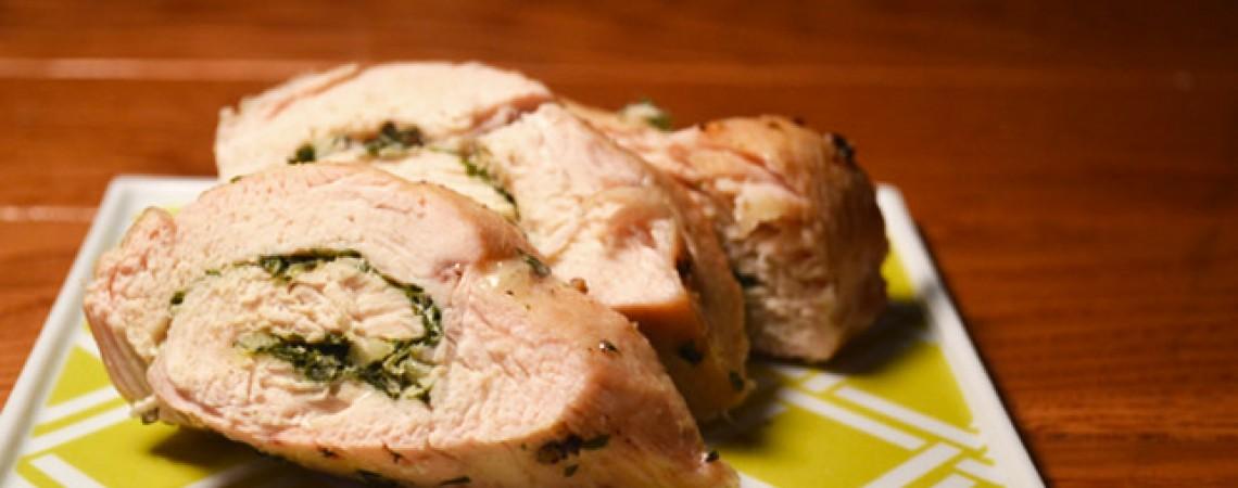 Herb-Stuffed Turkey Breast