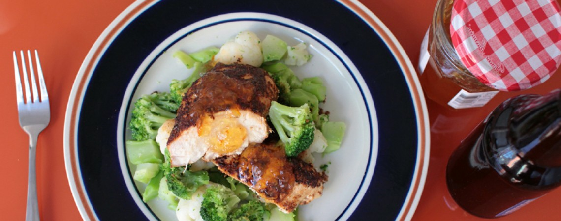 Manly Marmalade Chicken