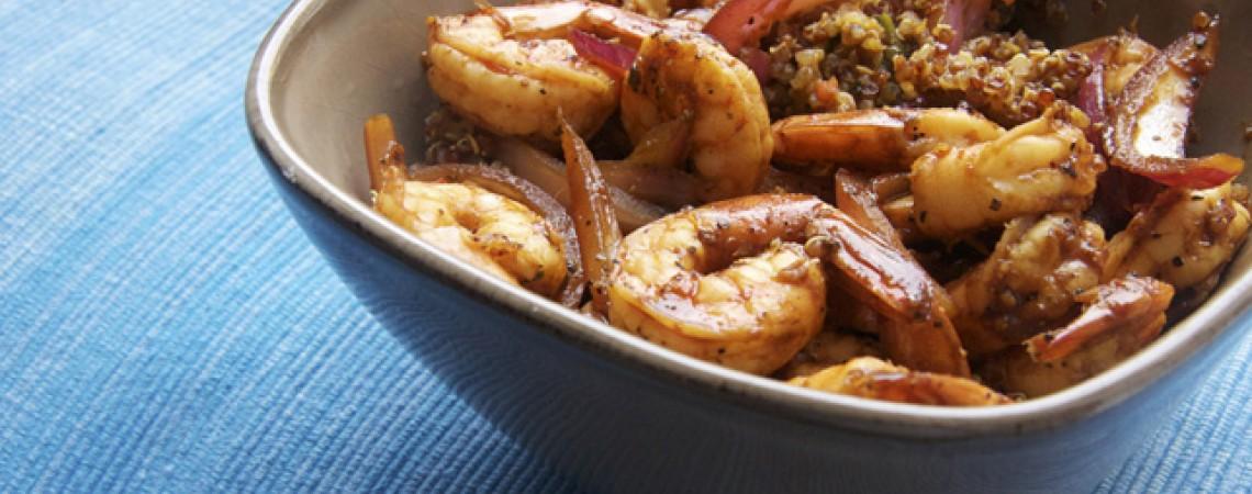 Zesty Shrimp and Quinoa