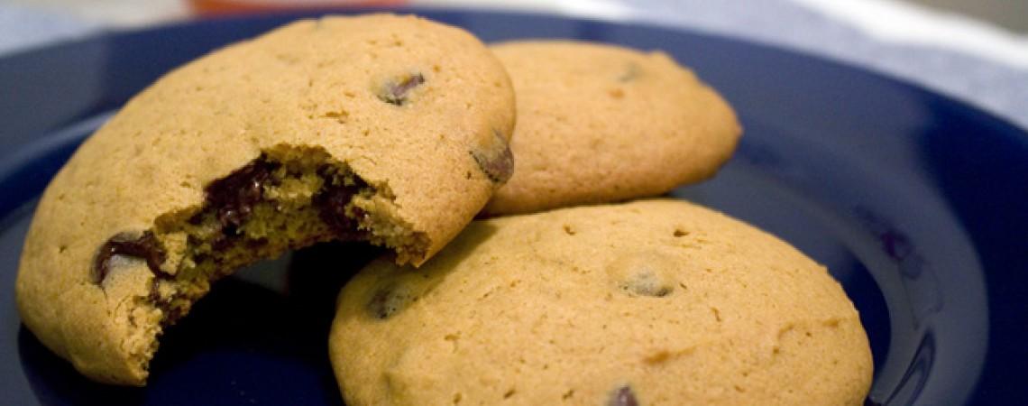 Healthier Pumpkin Chocolate Chip Cookies