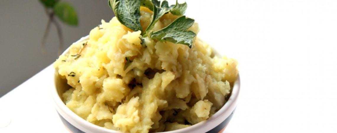 "Healthier Mashed ""Potatoes"""