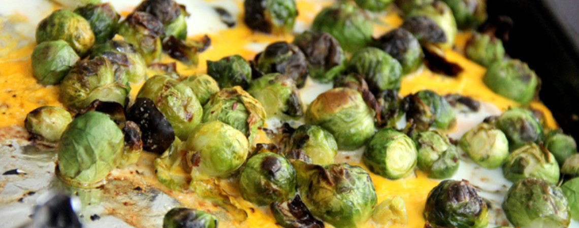 Brussels Sprout and Egg Scramble